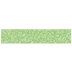 Green pattern Flano Scarf (Small)