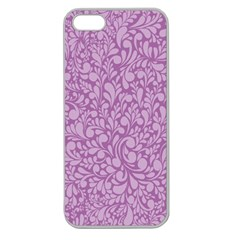 Pattern Apple Seamless iPhone 5 Case (Clear)
