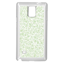 Pattern Samsung Galaxy Note 4 Case (White)