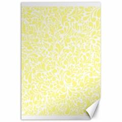 Yellow pattern Canvas 20  x 30