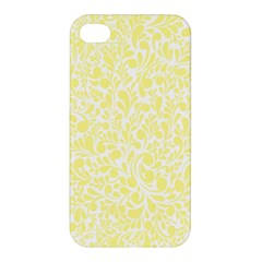 Yellow pattern Apple iPhone 4/4S Premium Hardshell Case