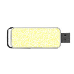 Yellow pattern Portable USB Flash (One Side)