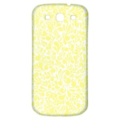Yellow pattern Samsung Galaxy S3 S III Classic Hardshell Back Case
