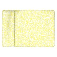 Yellow pattern Samsung Galaxy Tab 10.1  P7500 Flip Case