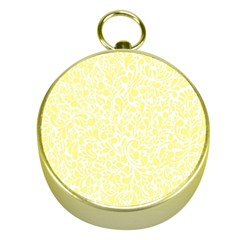Yellow pattern Gold Compasses