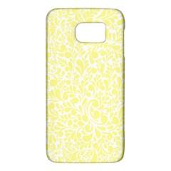 Yellow pattern Galaxy S6