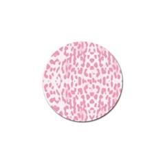 Leopard pink pattern Golf Ball Marker (10 pack)