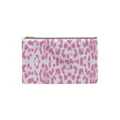 Leopard pink pattern Cosmetic Bag (Small)
