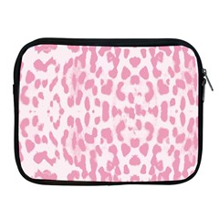 Leopard pink pattern Apple iPad 2/3/4 Zipper Cases