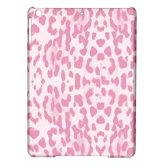 Leopard pink pattern iPad Air Hardshell Cases