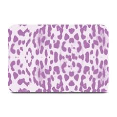 Purple leopard pattern Plate Mats