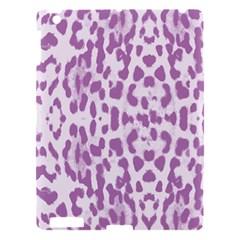 Purple leopard pattern Apple iPad 3/4 Hardshell Case