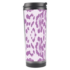 Purple leopard pattern Travel Tumbler