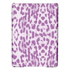 Purple leopard pattern iPad Air Hardshell Cases