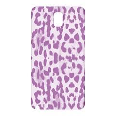 Purple leopard pattern Samsung Galaxy Note 3 N9005 Hardshell Back Case