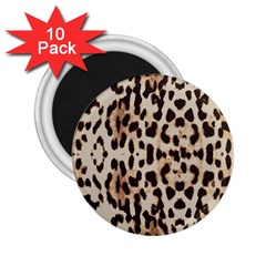Leopard pattern 2.25  Magnets (10 pack)