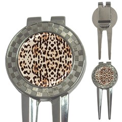Leopard pattern 3-in-1 Golf Divots