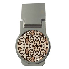 Leopard pattern Money Clips (Round)
