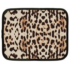 Leopard pattern Netbook Case (Large)