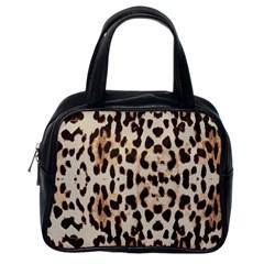 Leopard pattern Classic Handbags (One Side)