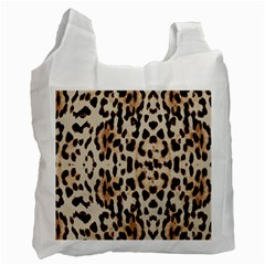 Leopard pattern Recycle Bag (Two Side)
