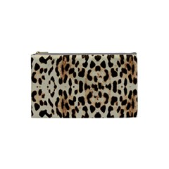 Leopard pattern Cosmetic Bag (Small)