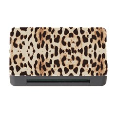 Leopard pattern Memory Card Reader with CF