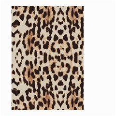 Leopard pattern Small Garden Flag (Two Sides)