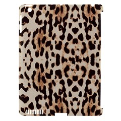 Leopard pattern Apple iPad 3/4 Hardshell Case (Compatible with Smart Cover)