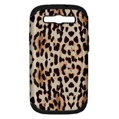 Leopard pattern Samsung Galaxy S III Hardshell Case (PC+Silicone)