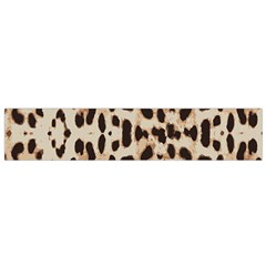 Leopard pattern Flano Scarf (Small)