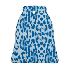 Blue leopard pattern Ornament (Bell)