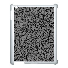 Pattern Apple iPad 3/4 Case (White)