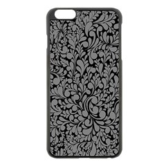 Pattern Apple iPhone 6 Plus/6S Plus Black Enamel Case
