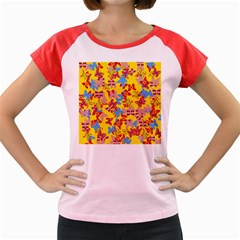 Butterflies  Women s Cap Sleeve T-Shirt