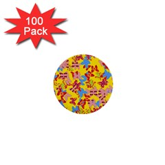 Butterflies  1  Mini Buttons (100 pack)