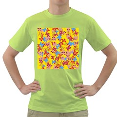 Butterflies  Green T-Shirt