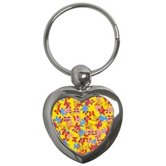 Butterflies  Key Chains (Heart)