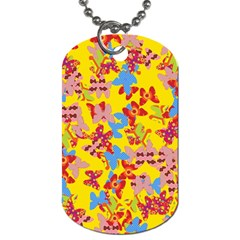 Butterflies  Dog Tag (One Side)