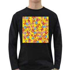 Butterflies  Long Sleeve Dark T-Shirts