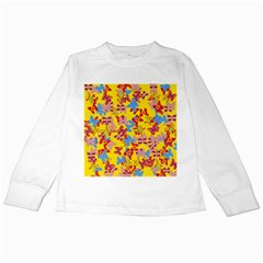 Butterflies  Kids Long Sleeve T-Shirts
