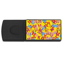 Butterflies  USB Flash Drive Rectangular (4 GB)