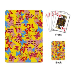 Butterflies  Playing Card