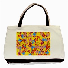 Butterflies  Basic Tote Bag (Two Sides)