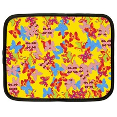 Butterflies  Netbook Case (XL)
