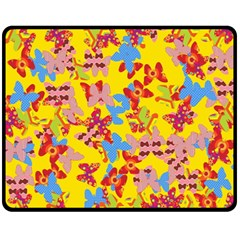 Butterflies  Fleece Blanket (Medium)