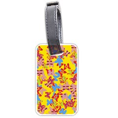 Butterflies  Luggage Tags (One Side)