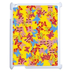 Butterflies  Apple iPad 2 Case (White)