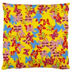 Butterflies  Large Cushion Case (Two Sides)