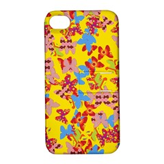 Butterflies  Apple iPhone 4/4S Hardshell Case with Stand